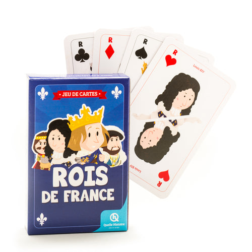 playing cards - jeu de cartes rois de france