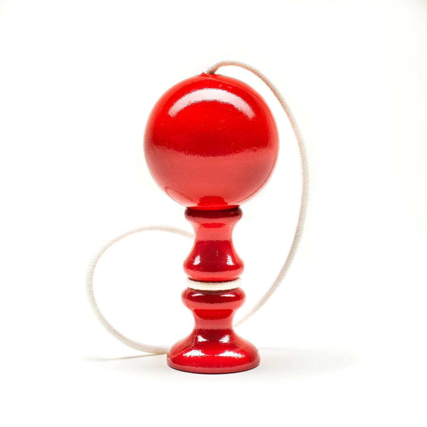 wooden cup and ball - bilboquet