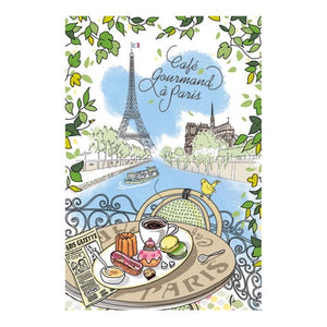 "GIFT BOX - COFFRET CADEAU ""CAFE GOURMAND A PARIS"""