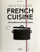 "Load image into Gallery viewer, ""how to cook french cuisine"" book"