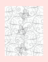 Coloring Page 42 Butterflies in Design - Self Care Pursuit