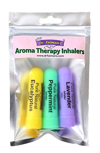 Essential Oil Nasal Inhaler Aromatherapy 3 Pack - Self Care Pursuit