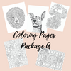 Coloring Pages Package A - Self Care Pursuit