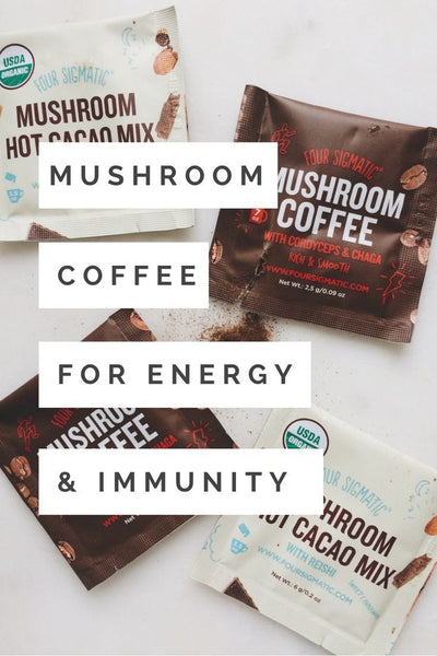 Four Sigmatic Mushroom Products - Self Care Pursuit