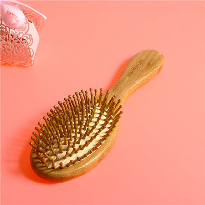Natural Bamboo Bristled Scalp and Hair Brush - Self Care Pursuit