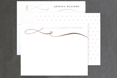 Gorgeous Personalized Stationary - Self Care Pursuit