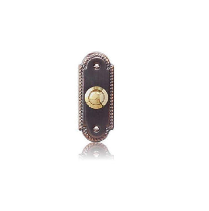 Bronze Bell Push with Brass Push Model 2222BZB