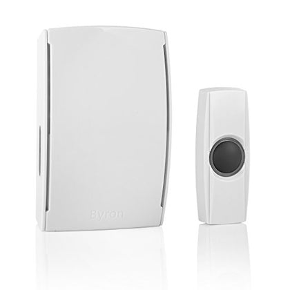 Byron BY511 125m Wireless Doorbell with Plug-in Chime