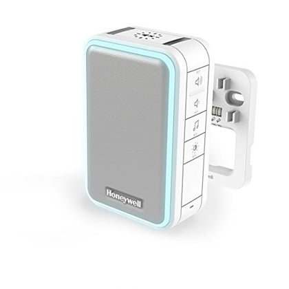 Honeywell DW315 Doorbell with Wiring, 6 Melodies (80 dB) LED, White