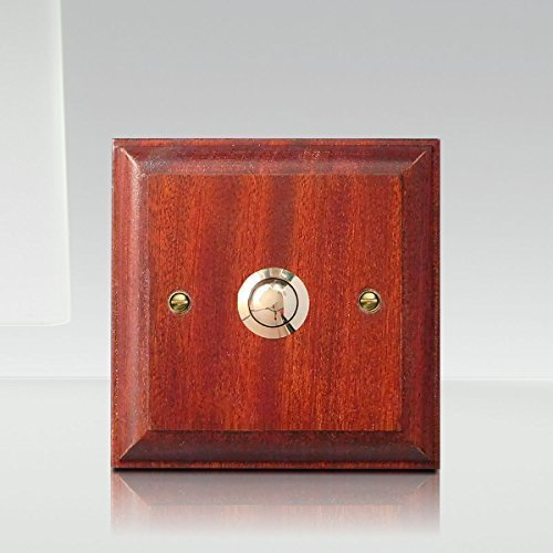 Varnished Mahogany Plinth, 105mm (4.1