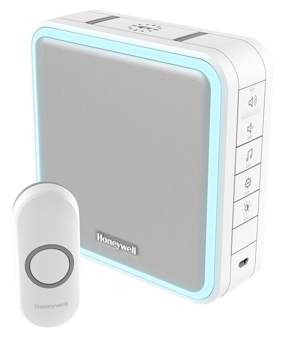 Honeywell DC915N 200 m 9 Series LED Doorbell - White