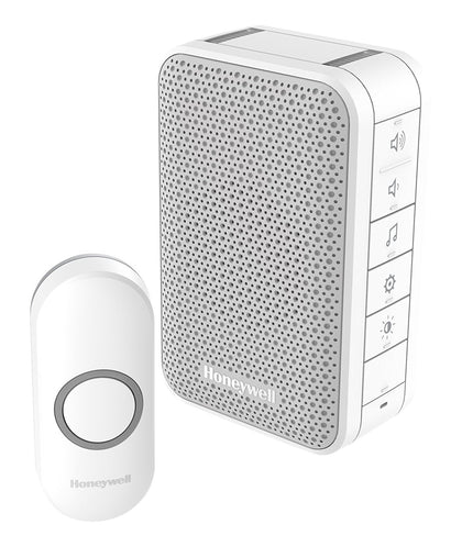Honeywell DC313NBS 150 m 3 Series LED Doorbell - White