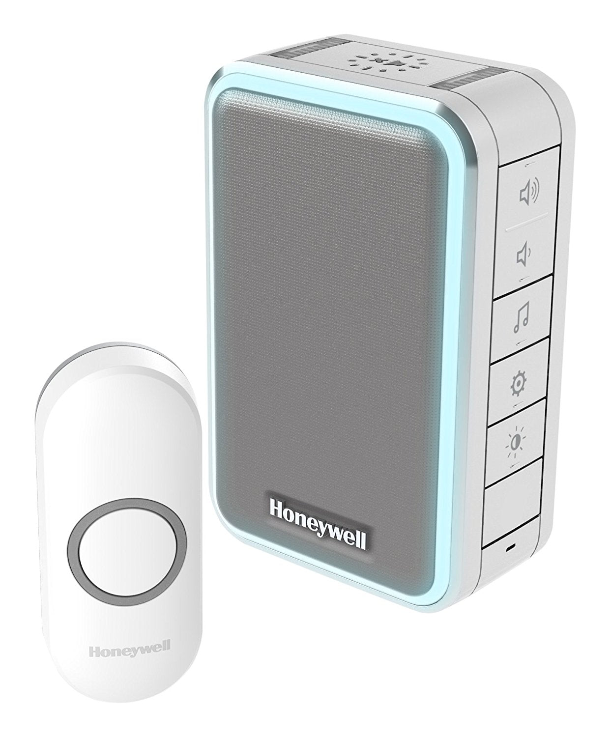 Honeywell DC315NG 1500 m 3 Series Silver LED Doorbell - Grey