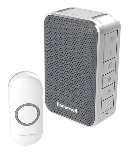 Honeywell DC313NG 150 m 3 Series Silver LED Doorbell - Grey