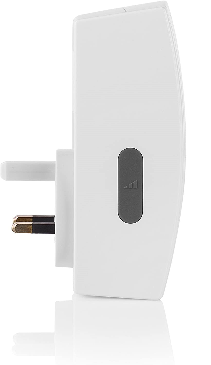 Byron BY511x 125m Additional Wireless Doorbell Plug-in Chime - No bell push