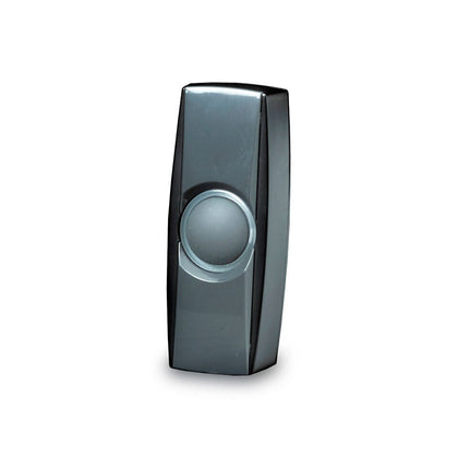 Byron BY35 Extra wireless bell push – BY series – Black/Grey