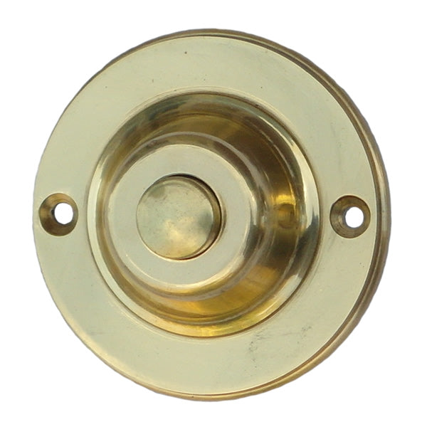 Round Brass Mechanical Bell Push-DBW-9001Bs