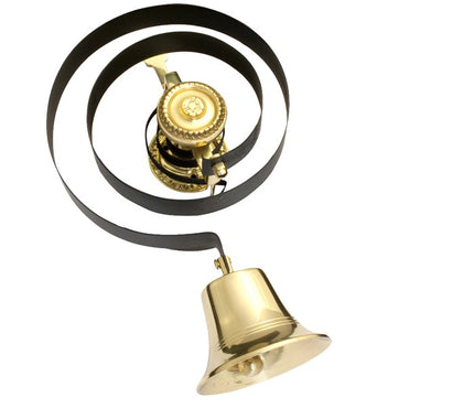 Traditional Butlers Bell spring and brass bell only
