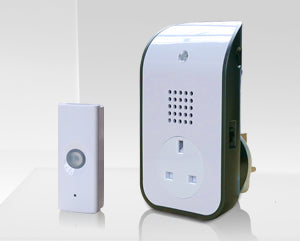 UNI-COM Wireless 150m Plug through Doorbell kit - 62202