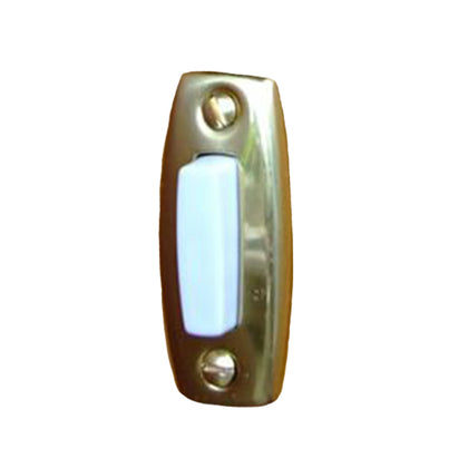 Windup mechanical Doorbell Brass push button only