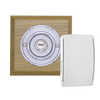 Build your own style Period Wireless Square plinth doorbell - with Byron chimes