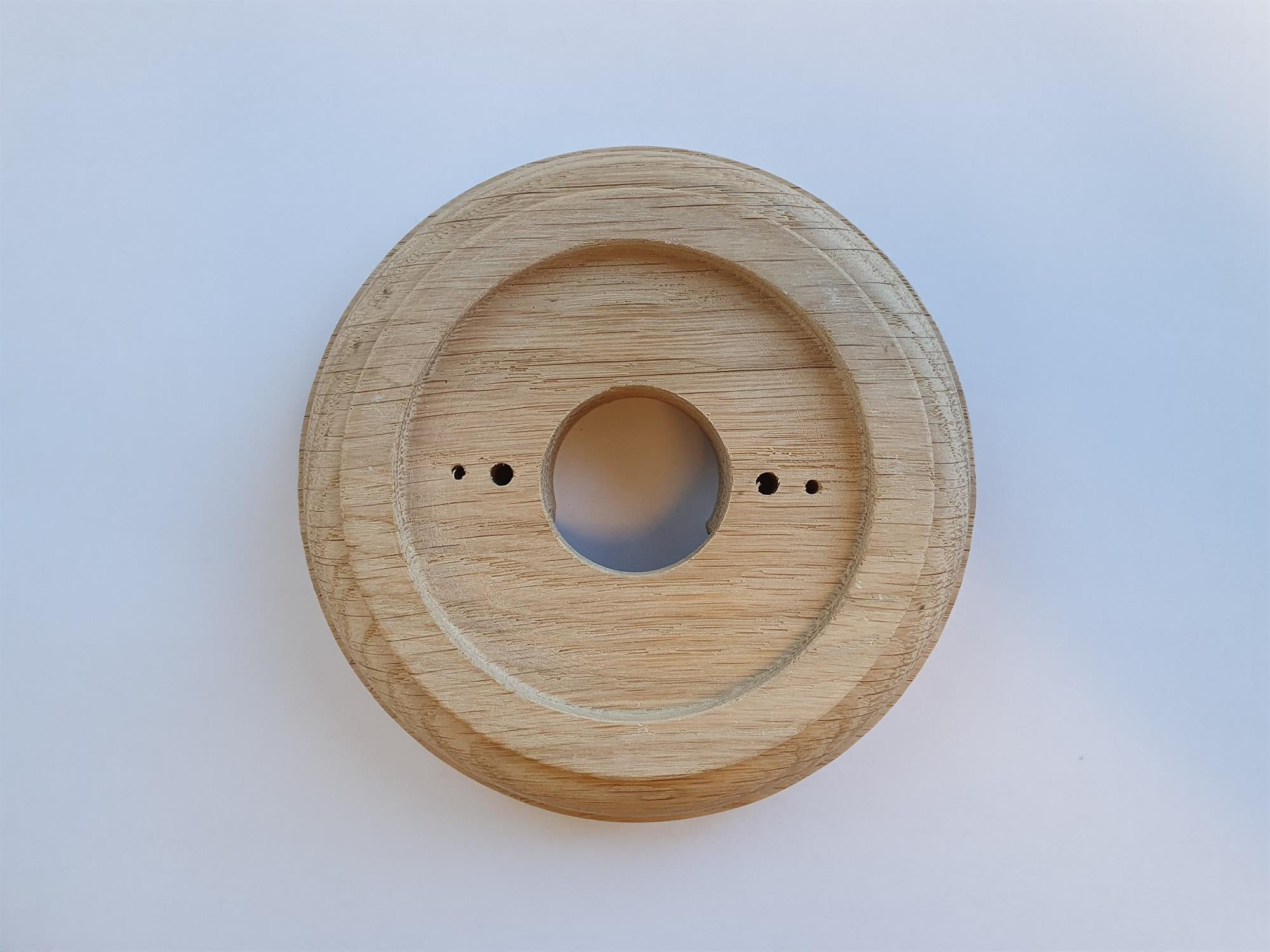 Natural Oak Round Period Plinth, For (3
