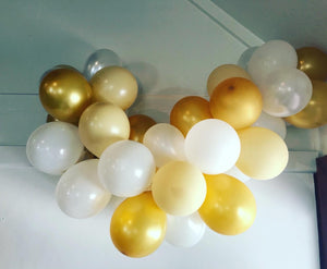 Golden Hour Mini Balloon Garland Kit