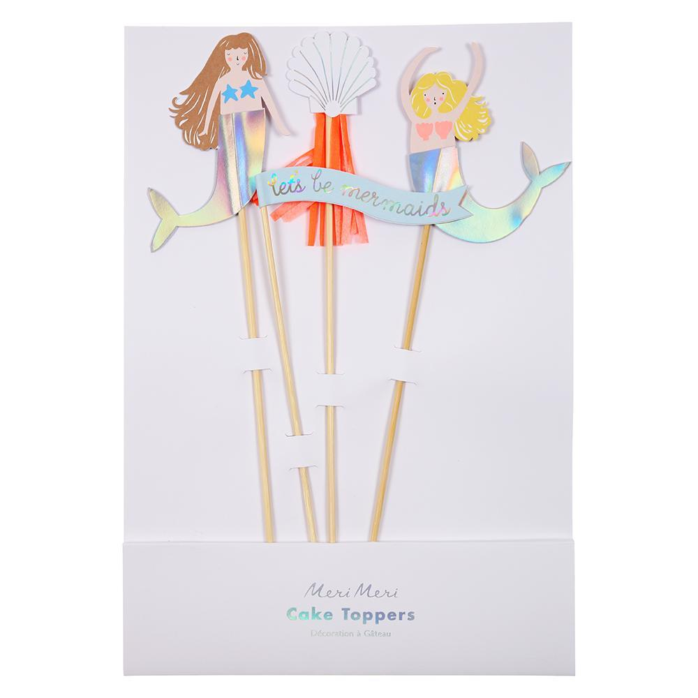 Mermaid Cake Toppers - Brown Sugar Party Boutique