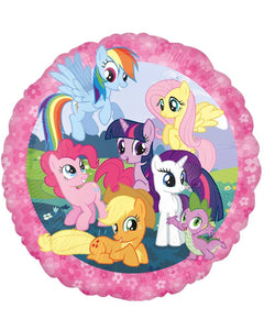 My little pony round balloon - Brown Sugar Party Boutique