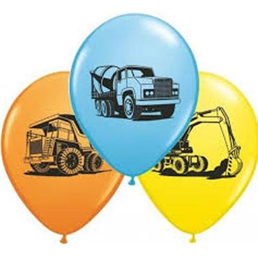 Construction Balloon - 9 pack