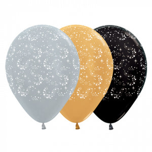 Starburst Balloon - 6 pack