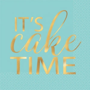 It's cake time napkins
