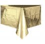 Metallic Gold Table cover - Brown Sugar Party Boutique