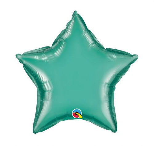 Green Chrome Star 50cm