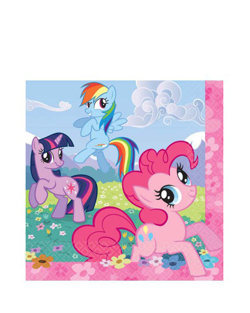 My little pony napkins - Brown Sugar Party Boutique