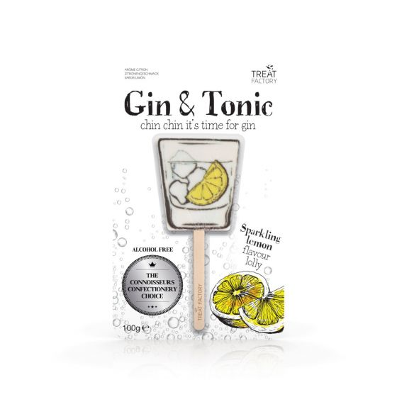 Gin & Tonic Lollipop - Brown Sugar Party Boutique