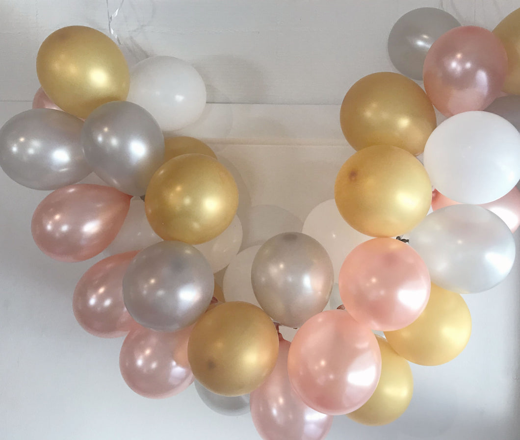 Champagne Bubbles Mini Balloon Garland Set