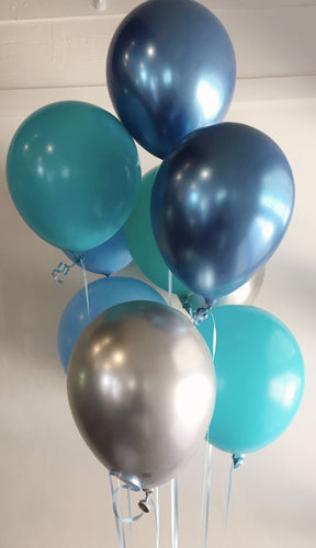 Frosted Balloon Bunch