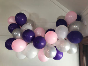 Marshmallow Dreams Mini Balloon Garland Set
