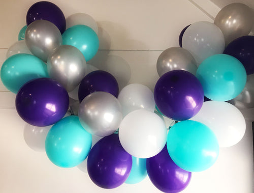 Mermaid Wishes Mini Balloon Garland Set