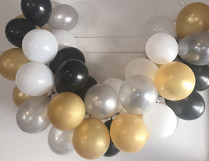 NYE Mini Balloon Garland Set