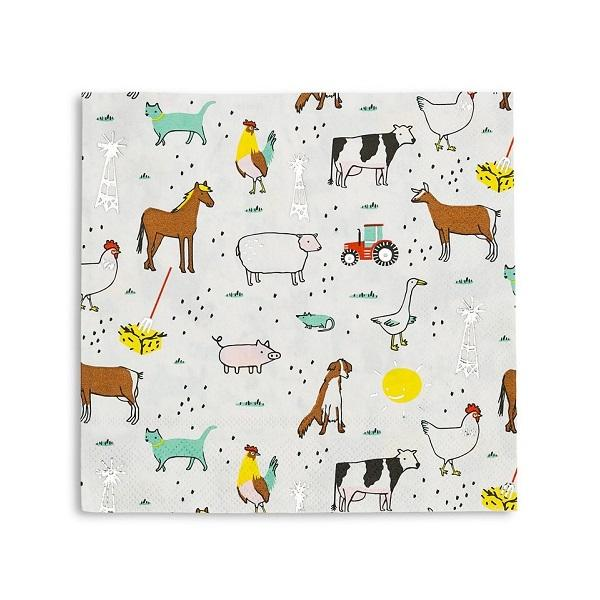 On the farm napkins - Brown Sugar Party Boutique