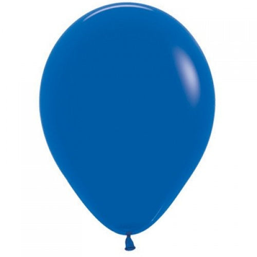 Bright Royal Blue Balloons 30cm - 10pack