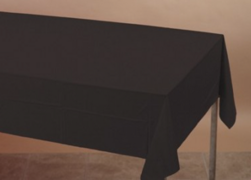 Black Table cover - Brown Sugar Party Boutique