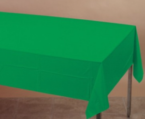 Forest Green Table cover - Brown Sugar Party Boutique