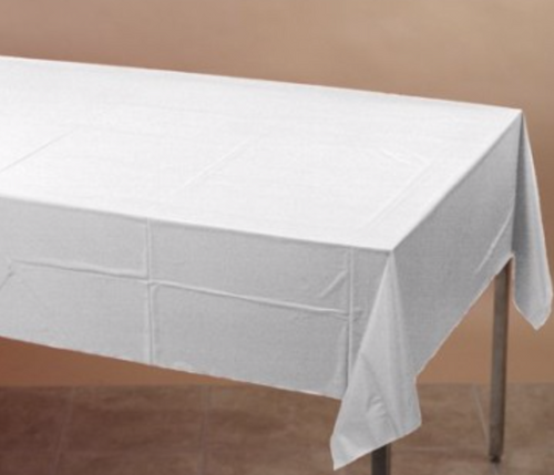 White Table cover