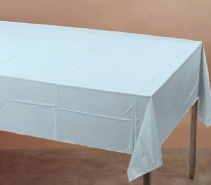 Light Blue Table cover - Brown Sugar Party Boutique