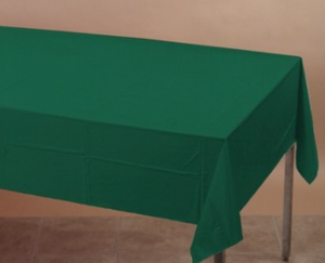 Hunter Green Table cover - Brown Sugar Party Boutique