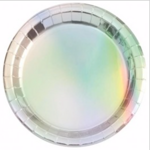 Iridescent Plates - Brown Sugar Party Boutique