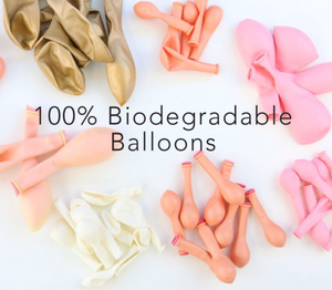 Pink and Gold DIY Balloon Garland